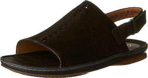CLARKS New Wohommes Sarla Forte Sandal noir Nubuck 8.5