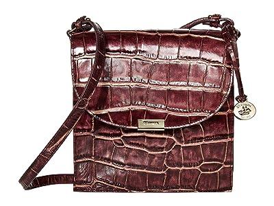Brahmin Volition Kimmie Crossbody (Port) Handbags