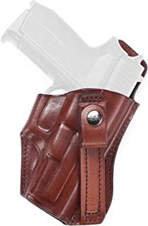 Holster for Steyr L40-A1 - Canted Tuckable Leather IWB Holster - Old-World Craftsmanship (21/2)