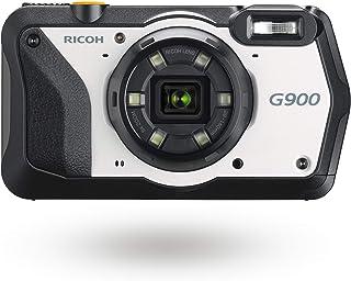 RICOH G900 耐薬品 (次亜塩素酸ナトリウム, エタノール, 二酸化塩素水 ) デジタルカメラ 消毒 ・防水20m・防塵・耐衝撃2.1m 広角28mm 業務用カメラ 現場で活きる高度なカメラ性能搭載 レンズフィルター装着可能 162101