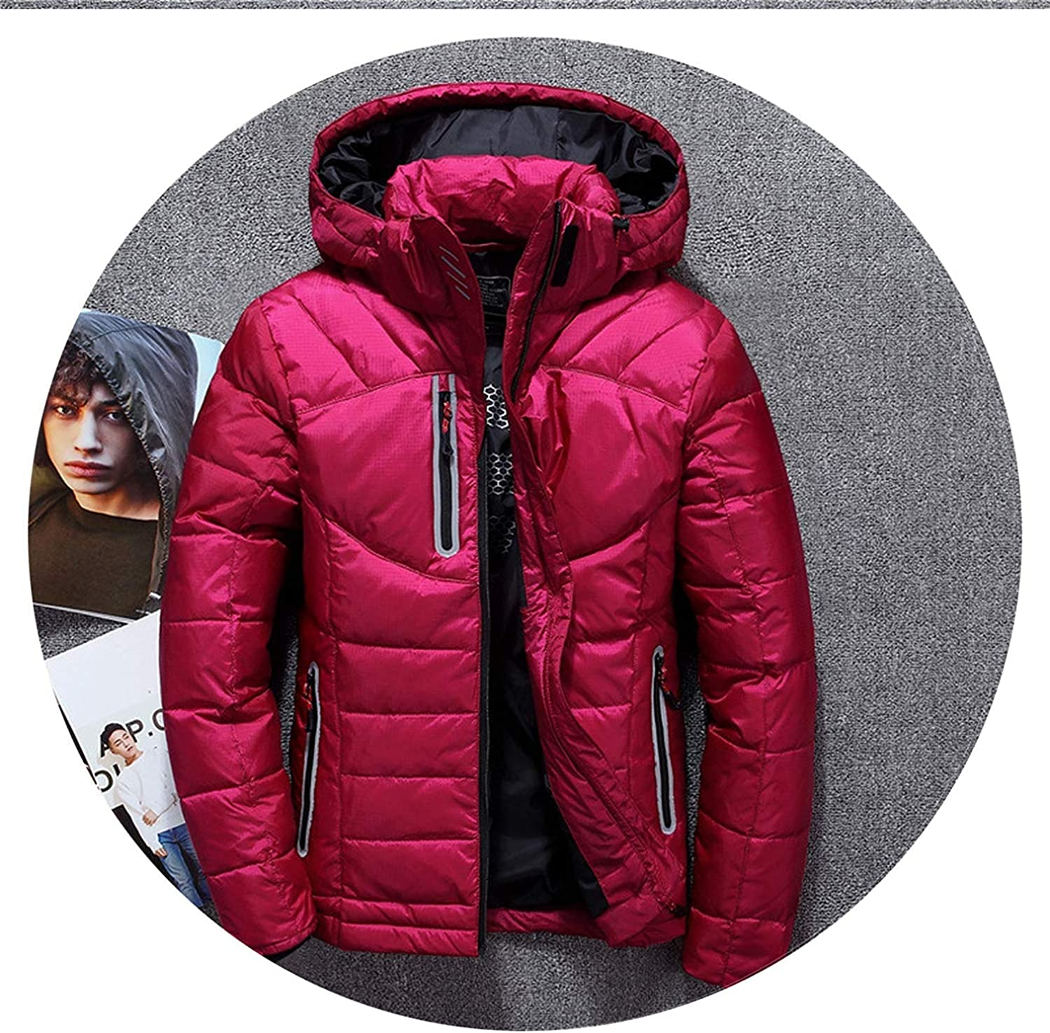 Cheryl Bull Trendy Man and Women Hooded Warm Outerwear Jacket Down Coat