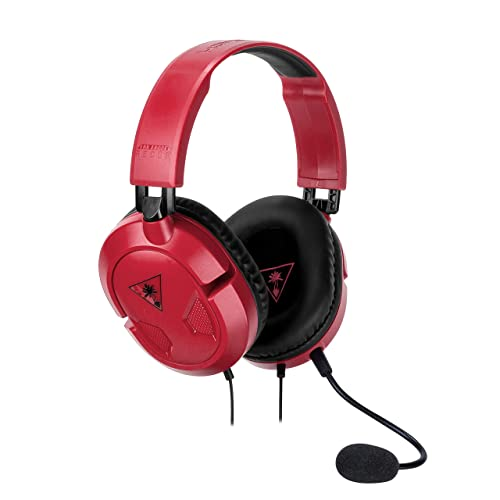 Turtle Beach Recon 50 Rouge Casque Gaming - Nintendo Switch, PC, PS4 et Xbox One