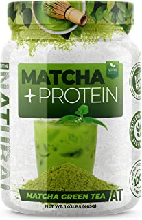 About Time Whey Isolate Protein Plus, Non-GMO, All Natural, Lactose/Gluten Free, 16g of Protein Per Serving (Matcha Green Tea)
