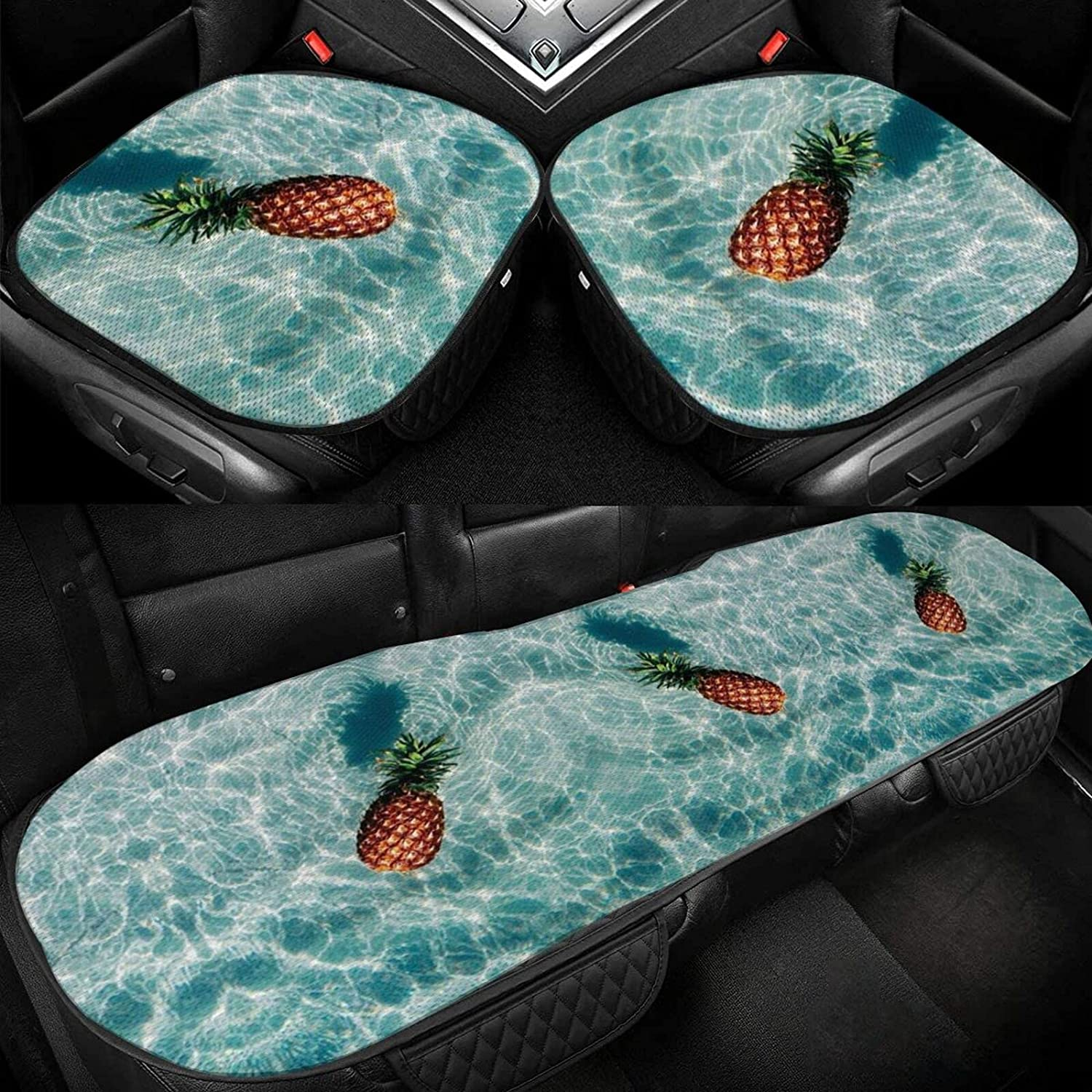 Yellow Pineapple Blue online shop sea Car Cushion Silk Seat Selling and selling Driver Ice