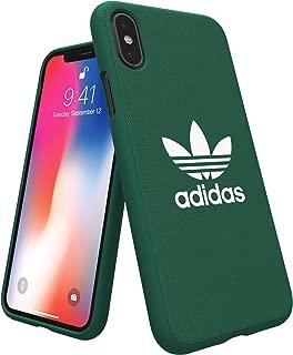 adidas Originals Adicolor Moulded Case/Cover for Apple iPhone X (Collegiate Green)