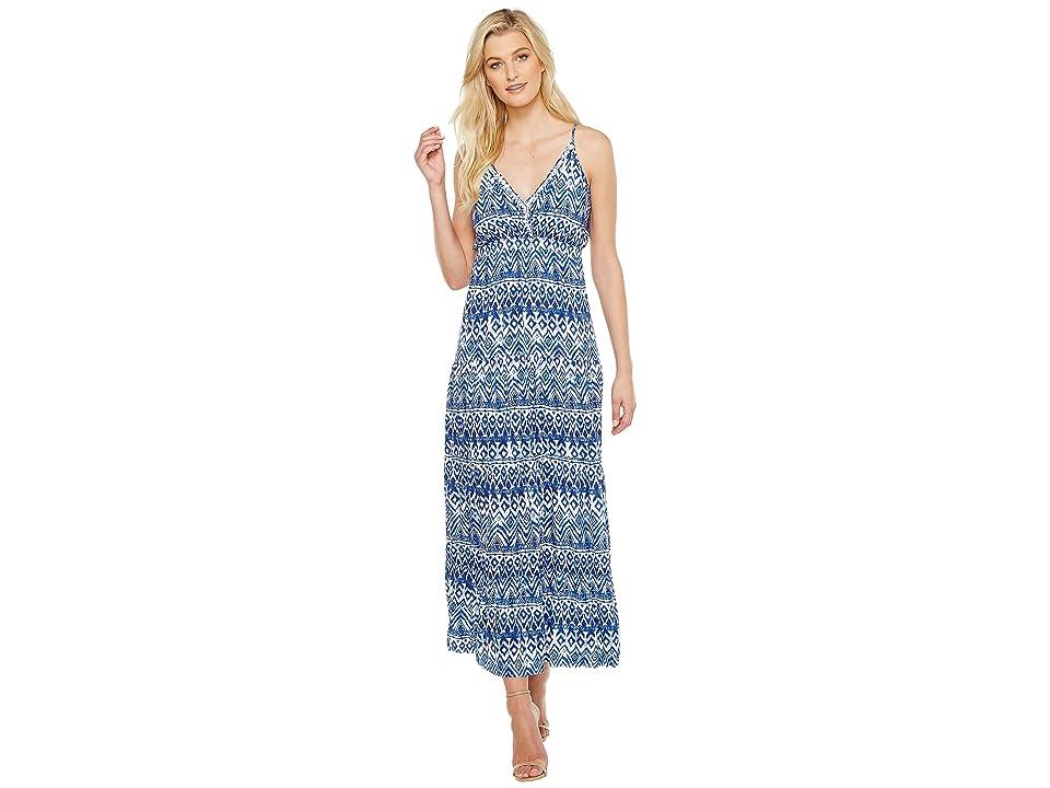 Karen Kane Tiered Maxi Dress (Print) Women