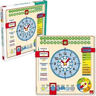 GOULA – kalendarz w dużym formacie – drewniana zabawka dla małych dzieci – od 3 lat