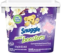 Snuggle Laundry Scent Boosters Concentrated Scent Pacs Lavender Joy Tub