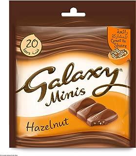 Galaxy Mini Chocolate Milk And Hazelnut- 20 Pieces, 250gm