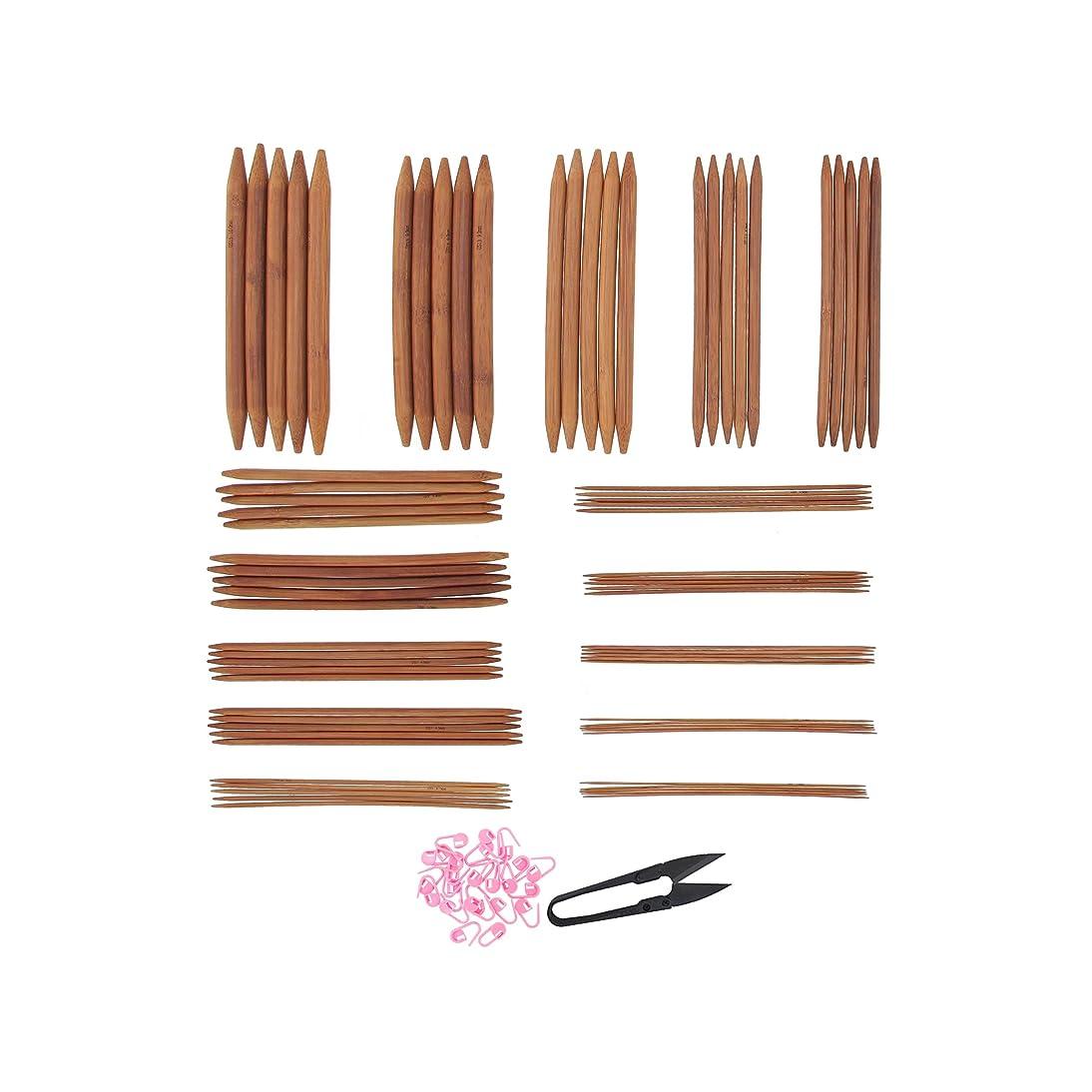 Bamboo Ultra Strong Knitting Needles Set 9
