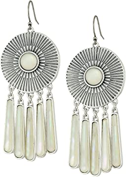 Medallion Statement Earrings