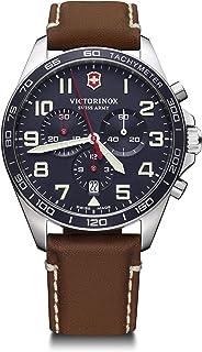 Victorinox - Hombre Field Force Chronograph - Reloj de Acero Inoxidable de Cuarzo analógico de fabricación Suiza 241854