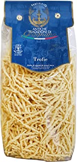 Antiche Tradizioni di Gragnano TROFIE Italian Durum Wheat Semolina Pasta Bronze Die - 500 gm, ATG34