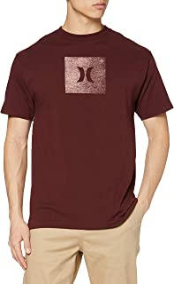 Hurley M Core Icon Box Texture S/S T-Shirt Hombre
