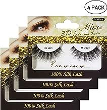 [4 PACKS] Miss Lashes 3D Volume Silk Eyelash Extension (M Wispy) + FREE GIFT
