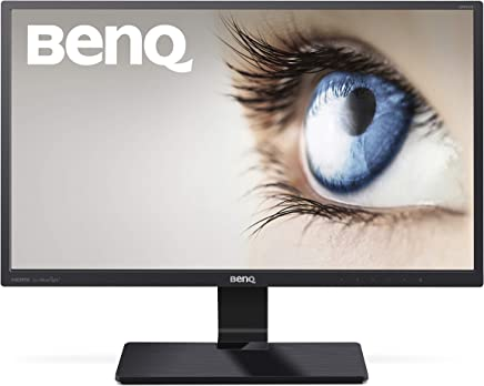 BenQ 23.8 Inch FHD 1080p LED Eye-Care Monitor (GW2470ML), 1920x1080 Display, VA, Low Blue Light Plus Technology, Flicker-Free, High Contrast Ratio 3000:1, HDMI, Slim Bezel Design