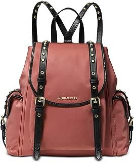 Leila Nylon Medium Flap Backpack