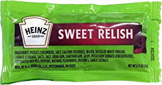 Heinz Sweet Relish Packets 9g - 25 ct.