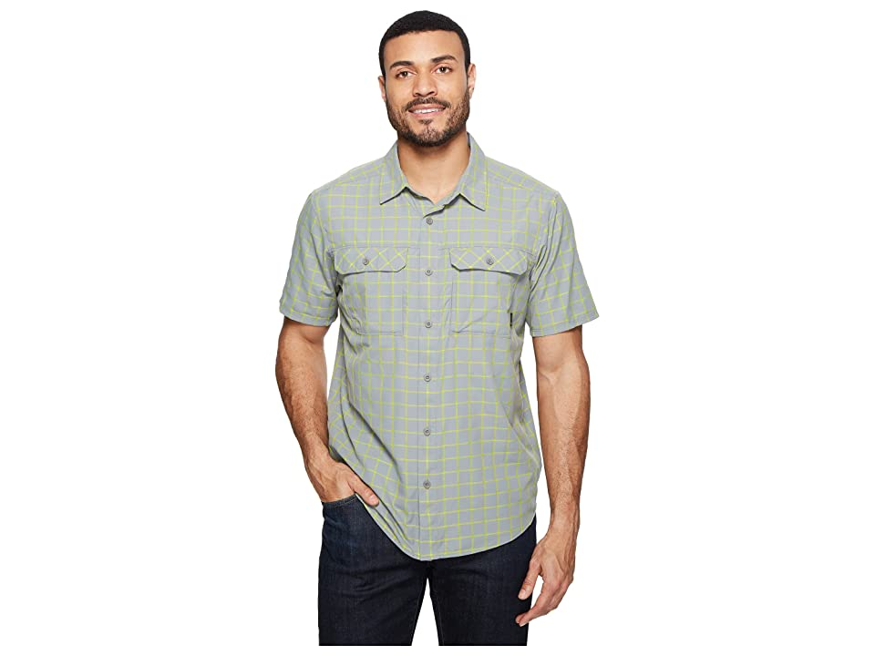 Mountain Hardwear Canyon AC Short Sleeve Shirt (Manta Grey) Men