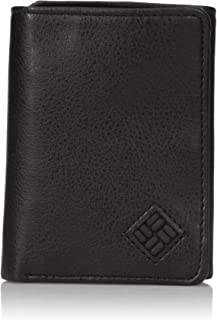 Men's RFID Blocking Leather Slim Trifold Wallet