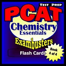 PCAT Test Prep Chemistry Review--Exambusters Flash Cards--Workbook 4 of 4: PCAT Exam Study Guide (Exambusters PCAT)