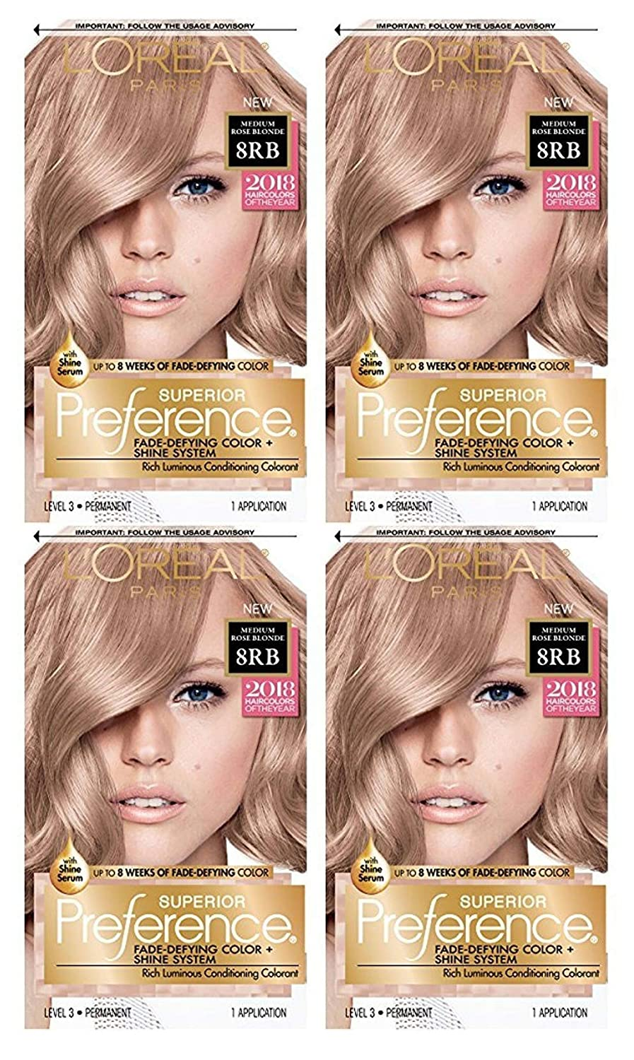Max 72% OFF Loreal Superior Preference Hair Blonde Rose Chicago Mall Color Permanent