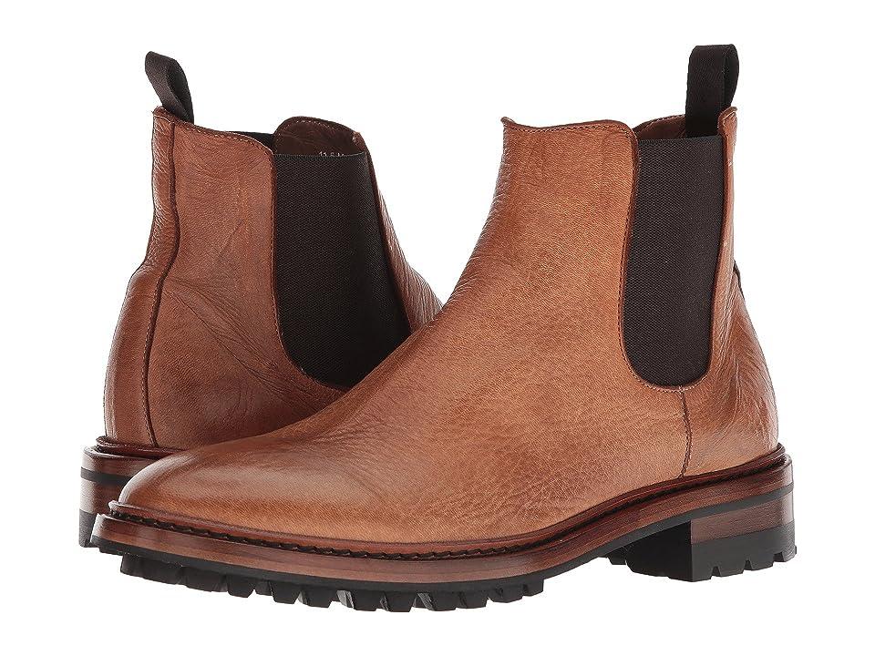 Frye Greyson Chelsea (Natural Deer Skin Leather) Men