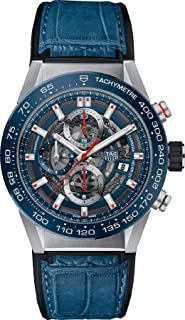 Carrera Blue Skeleton Dial Automatic Mens Watch CAR201T.FC6406