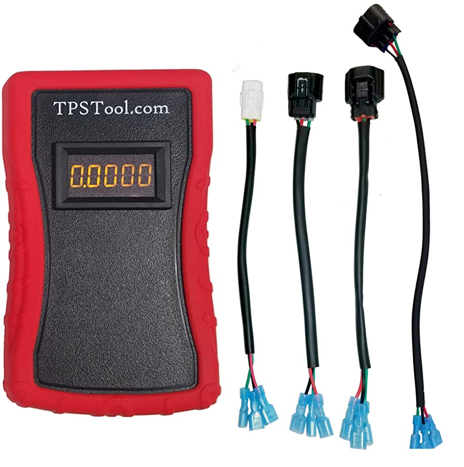 Throttle Position Sensor (TPS) Adjustment and Test Tool, Powered (4 Adapters)