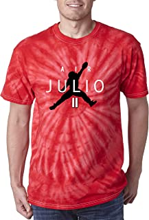 TIE-DYE RED Atlanta Air Julio T-Shirt