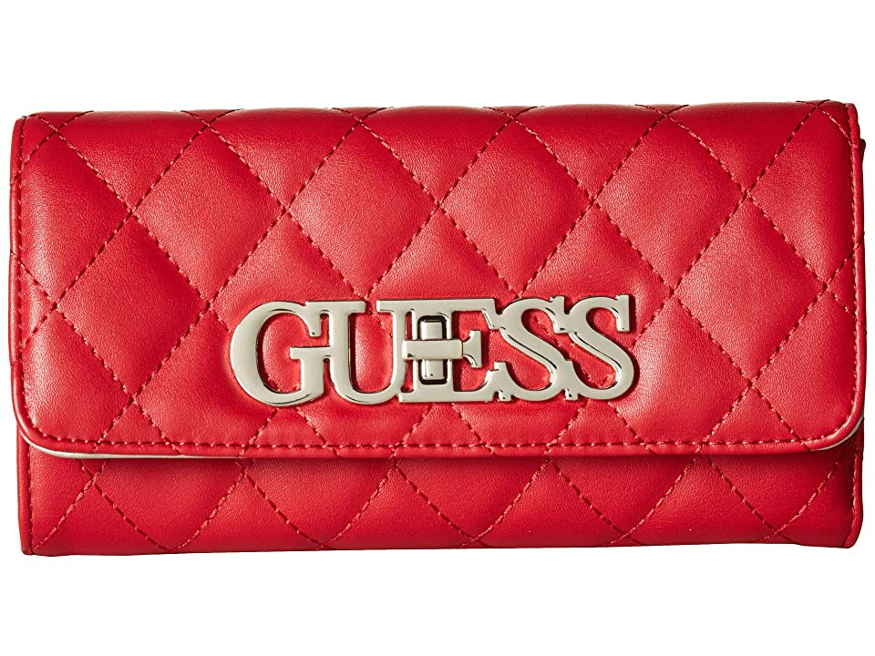 GUESS Sweet Candy SLG Multi Clutch (Red) Wallet Handbags