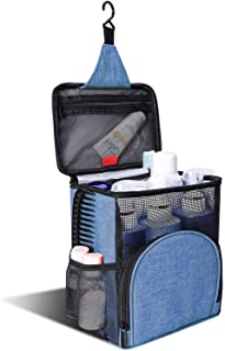 KUSOOFA Shower Caddy Tote Bag, Hanging Toiletry Bag,Bath Organizer with Quick Dry Technology and Mildew Resistant Protecti...