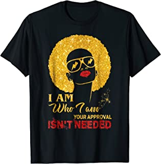 i am who i am shirt