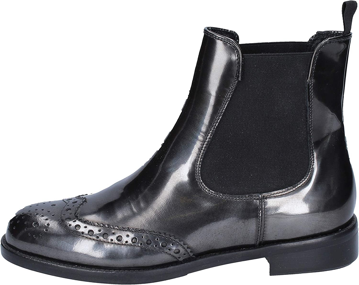 VSL Boots Womens Leather Grey