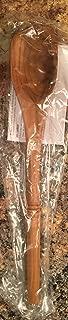 PAMPERED CHEF New model. #2003 TEAK WOODEN CORNER SPOON