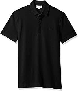 ee3b6146e Lacoste Men s Short Sleeve Paris Piqué Polo