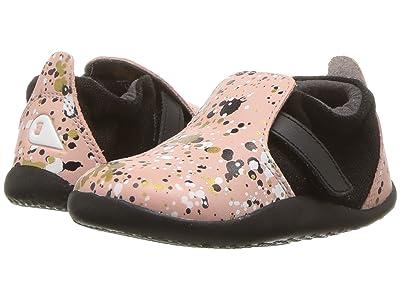 Bobux Kids Step Up Xplorer Spekkel (Infant/Toddler) (Printed Pink) Girl