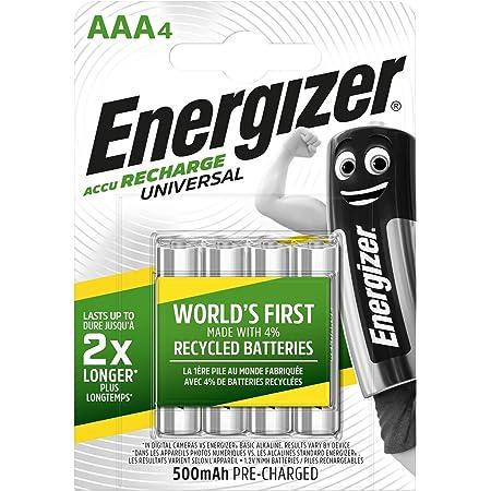 Energizer Wiederaufladbare Batterien Aaa Recharge Elektronik