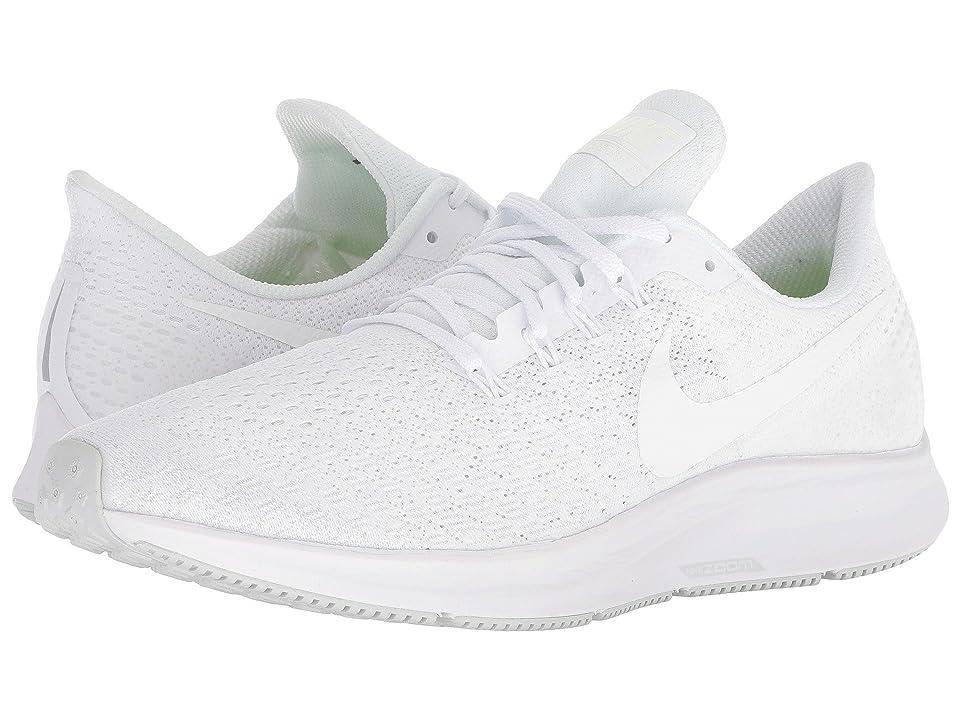 Nike Air Zoom Pegasus 35 (White/Summit White/Pure Platinum) Men