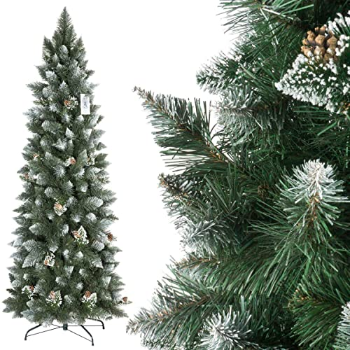 Slim 6ft Christmas Tree: Amazon.co.uk