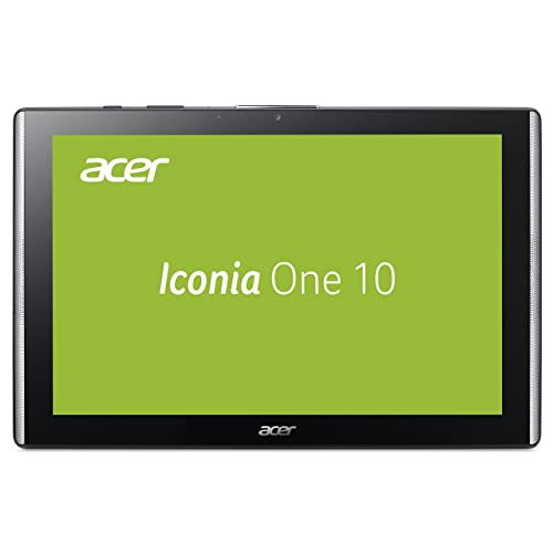 Acer Iconia One 10 (B3-A40) 25,7 cm (10,1 Zoll HD IPS Multi-Touch) Multimedia Tablet (MediaTek Quad-Core Cortex A53, 2 GB RAM, 32 GB eMMC, Android 7.0) schwarz