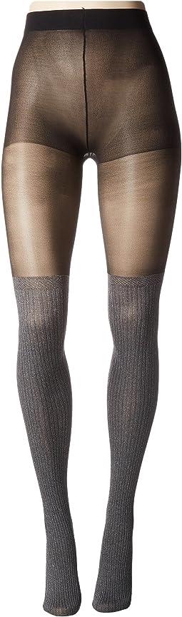 Pretty Polly - Secret Socks Marl Tights