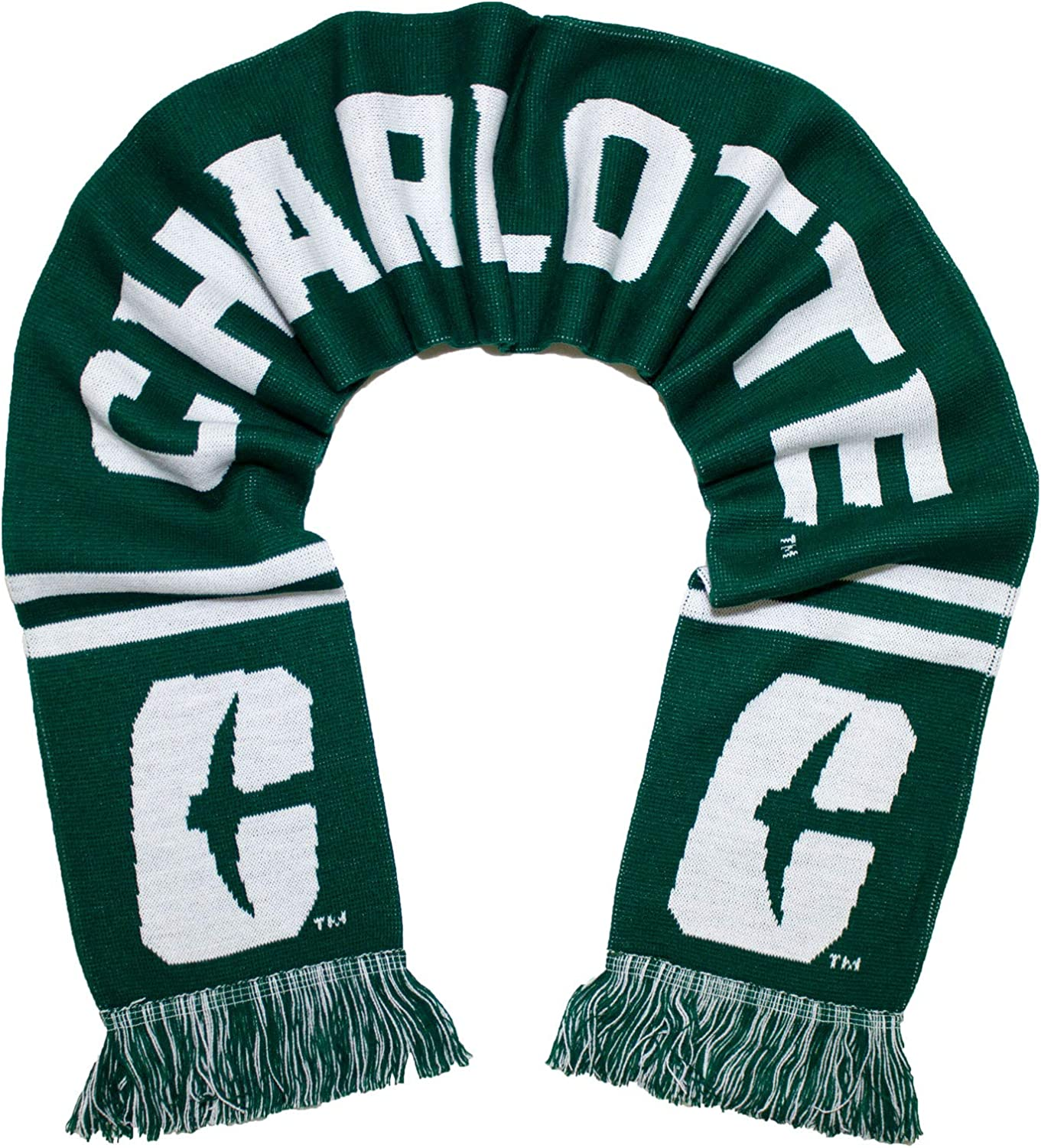 Charlotte Dallas Mall 49ers Scarf - Classic UNC Knitted Now free shipping