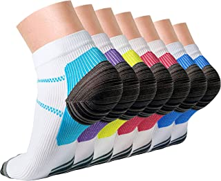 Compression Socks,15-20 mmhg is BEST Athletic for Men & Women, Running, Flight, Travel