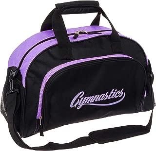 purple gymnastics bag