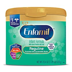 Enfamil Reguline Constipation Baby Formula Milk Powder to Promote Soft Stools, 20.4 ounce - Omega 3,