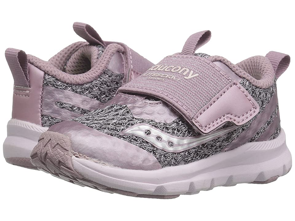 Saucony Kids Liteform (Toddler/Little Kid/Big Kid) (Blush) Girls Shoes