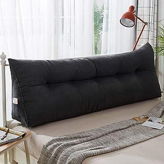 ASDFF Almohada Triangular cojín de Cama Cama Triangular Almohada Grande Simple Espalda Grande Cama Espalda Bolsa Suave Cama Espalda Bolsa Suave Almohada Larga 60 * 50 * 22cm H