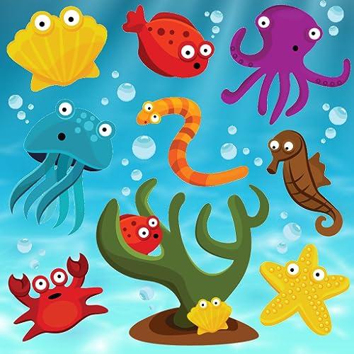 Fische Puzzles für Kleinkinder und Kinder