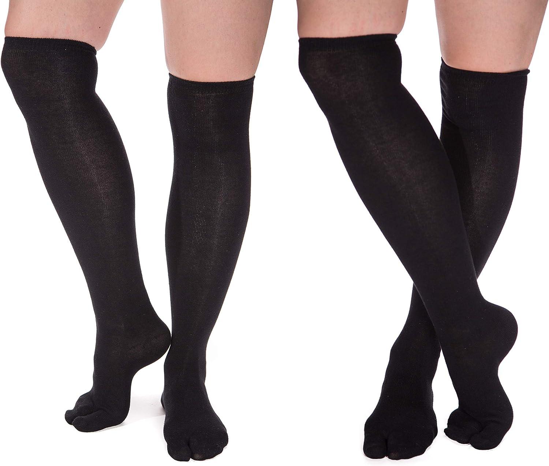 Over The Knee Flip-Flop Tabi Big Toe Socks